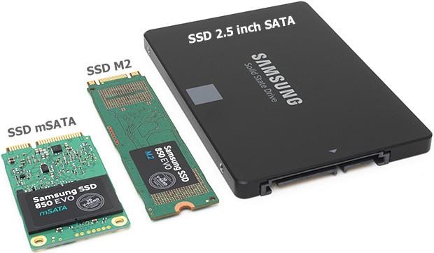 Các loại SSD