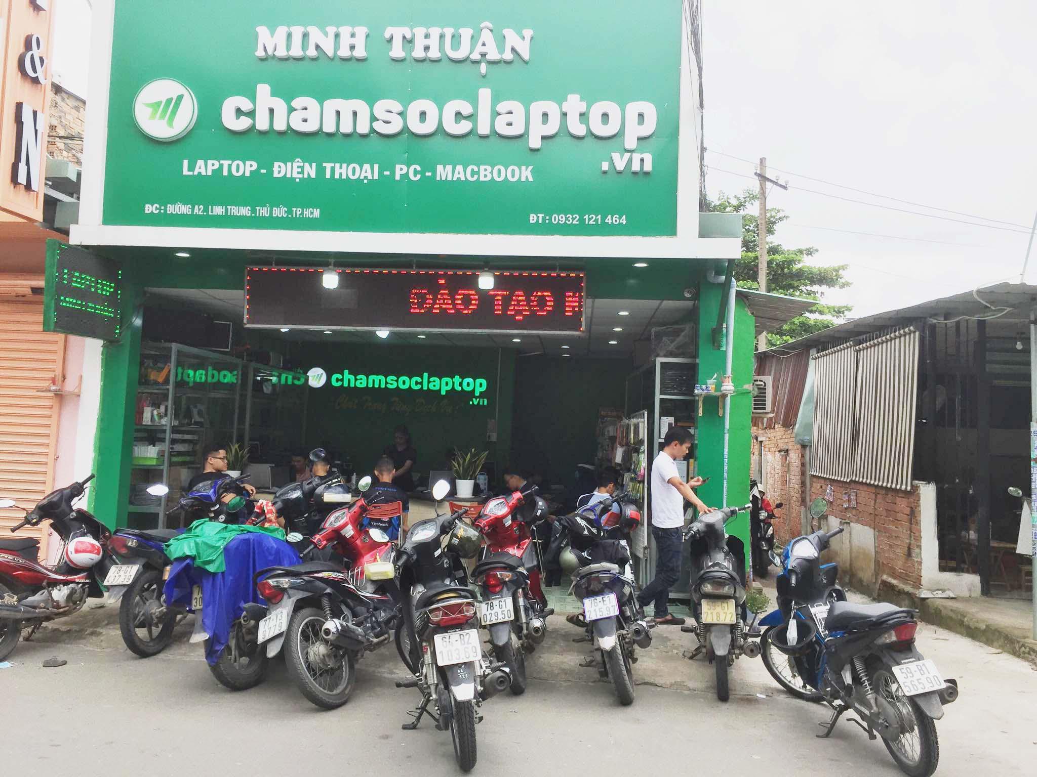 Sửa chữa laptop Thủ Đức - Chamsoclaptop.vn